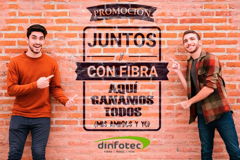 Juntos y con Fibra - Dinfotec